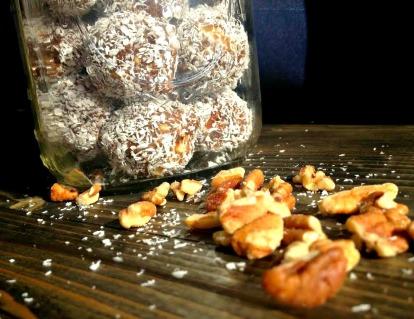 Coconut Pecan Bites