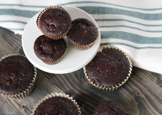 Rich Dark Chocolate Pecan Muffins (Paleo) Coconut Contentment