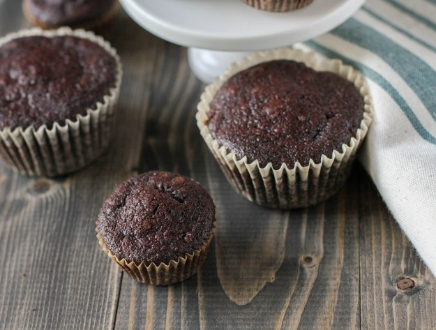 Dark Chocolate Pecan Mini Muffins (Paleo, Can be made Nut-free) Coconut Contentment