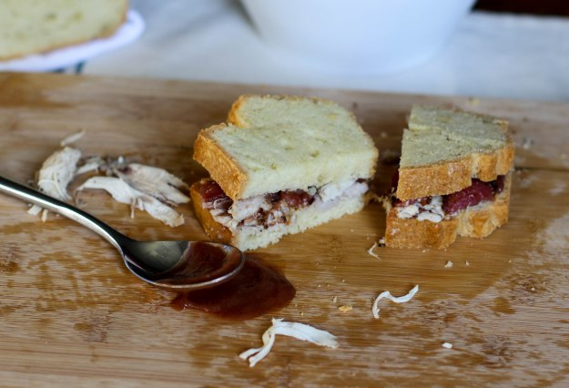 Paleo Apple Butter Bacon Chicken Sandwich - Coconut Contentment (1 of 1)