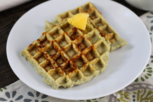 Japanese Sweet Potato Waffles - just 3 ingredients - Coconut Contentment (Paleo, Gluten-free, 21DSD, Whole 30)