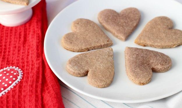 Paleo Valentine's Day Sugar Cookies - Coconut Contentment (Gluten-free, Dairy-free, Refined Sugar-free)