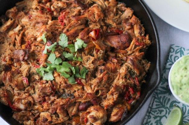 Slow Cooker Chicken Fajitas - Coconut Contentment (Paleo, Gluten-free)